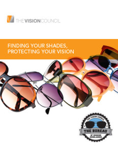 The Vision Council's 2012 UV Report
