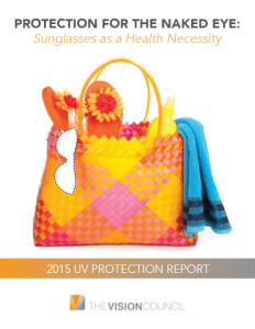 The Vision Council's 2015 UV Report