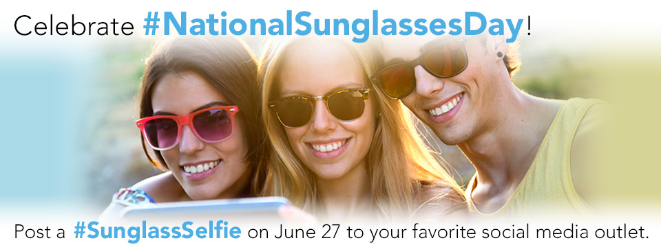 Celebrate National Sunglasses Day